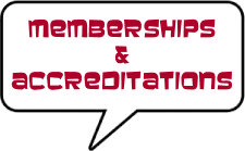 Company memberhips and Accreditations